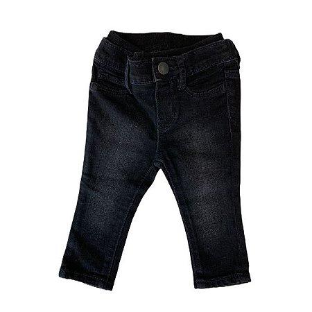 BABY GAP calça preta 6-12 meses