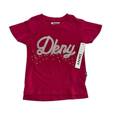 DKNY camiseta pInk DKNY lantejoulas 4 anos 60,00 048 NOVO