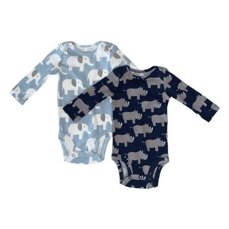 CARTERS kit 2 body elefante e rinoceronte 3 meses