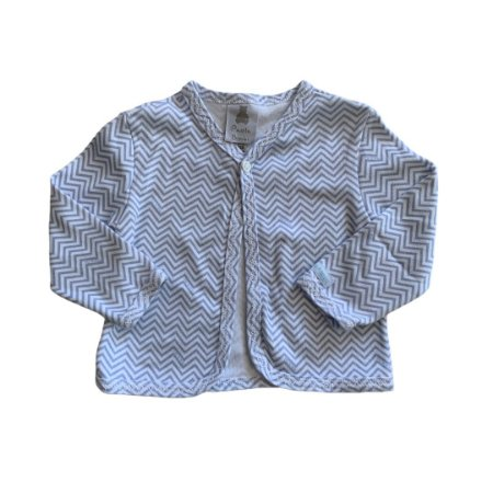 PAOLA BIMBI casaco malha chevron azul M 3-6 meses