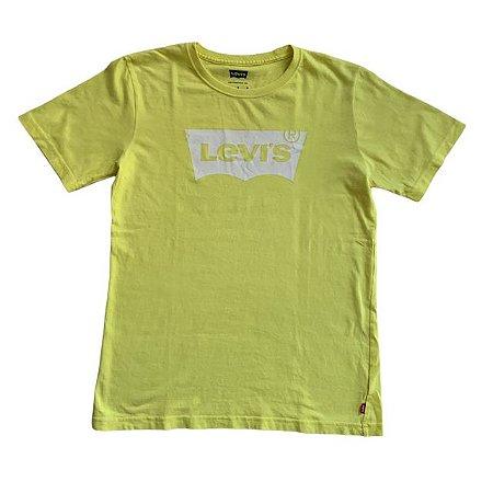 LEVIS camiseta amarela L 12-13 anos
