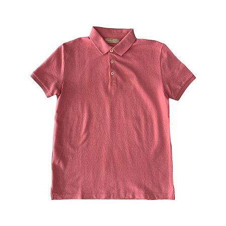 ZARA camisa polo rosa 11-12 anos