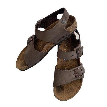BIRKENSTOCK sandália marrom BRA 34
