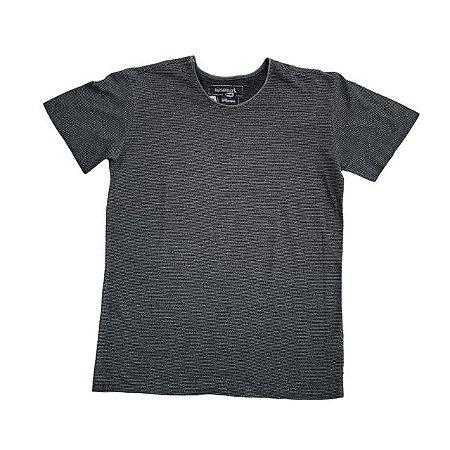 RESERVA MINI camiseta cinza listras finas 12 anos