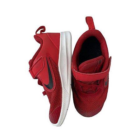 NIKE tênis vermelho velcro USA 8 BRA 24