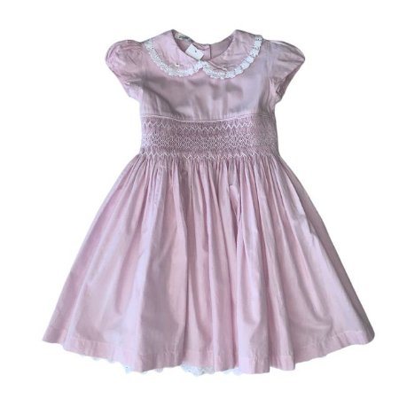 PINNI vestido casinha de abelha mini xadrez rosa 2-3 anos