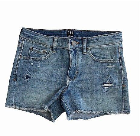 GAP KIDS short jeans claro 10 anos