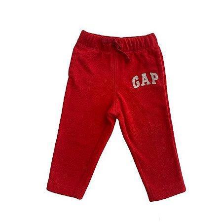 BABY GAP calça soft vermelha 18-24 meses