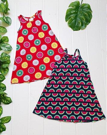 Vestido Infantil - Combo 2 peças
