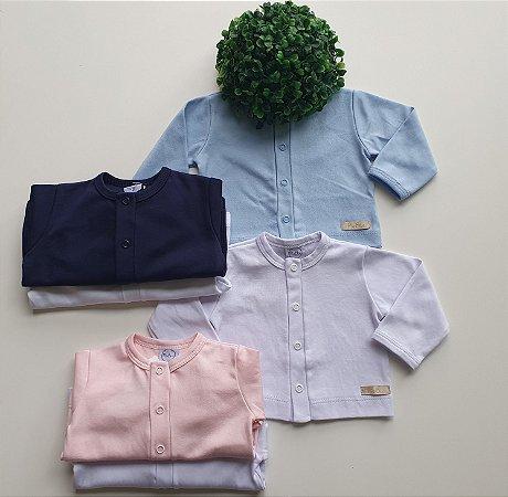 Combo 2 Casacos Bebê Suedine - Piu Blu
