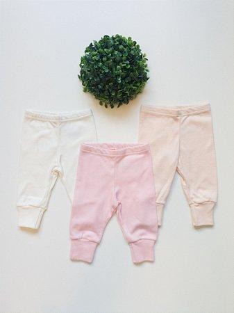 Combo 3 Culotes Lisos Prematuro - Kiko Baby