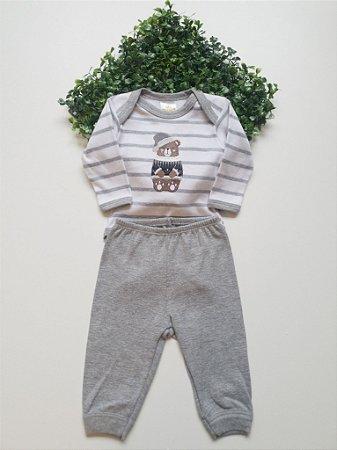 Conjunto Bebê Body + Calça