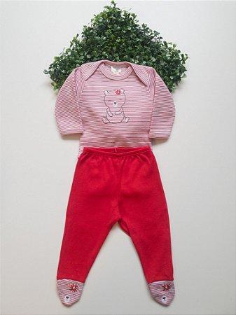 Conjunto Bebê Feminino Body + Calça