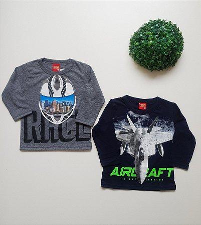 Combo 2 Camisetas 4 a 8 Masc - Kyly