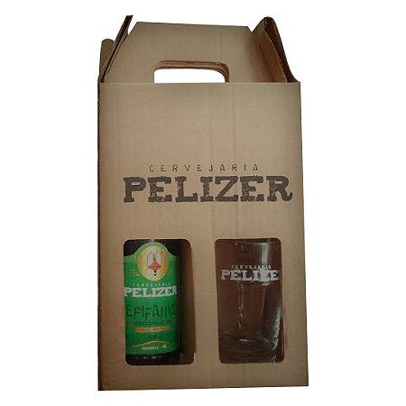 Kit Garrafa Epifania (West Coast IPA) + Copo (Pint) Pelizer