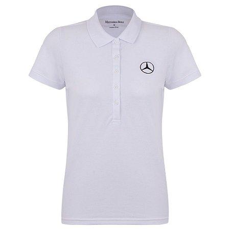 Camisa Polo Feminina Mercedes-Benz