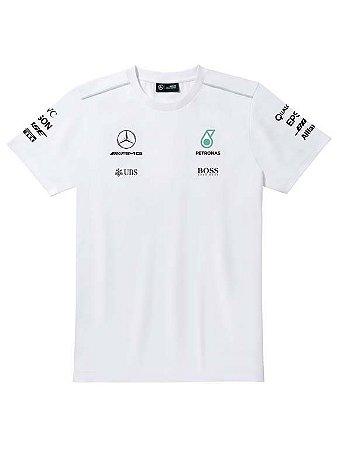 Camisa F1 Masculina Branca 2017