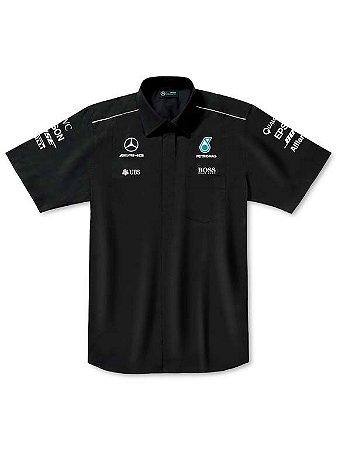 Camisa Fórmula 1 Masculina Preta 2017