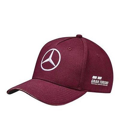 Boné Oficial Mercedes Formula 1 Lewis Hamilton 2018 - Singapura