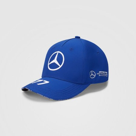 Boné Aba Beisebol Oficial Piloto Bottas F1 2020 Unissex AMG Petronas Mercedes-Benz