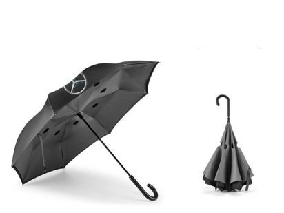 Guarda-chuva Mercedes-Benz Tr Preto/cinza