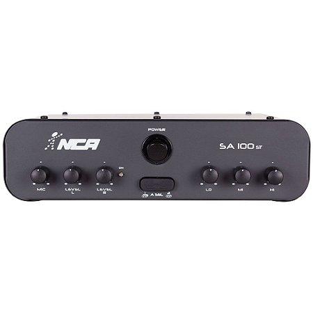 Amplificador Compacto Para Som Nca SA100 ST 100 WRms