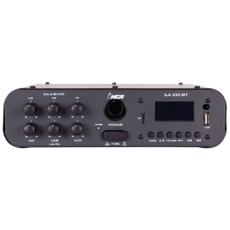 Amplificador Compacto De Som SA100 BT 100 W Rms