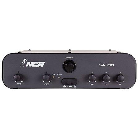 Amplificador Compacto Para Som Nca SA100 100 W Rms