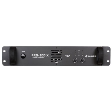 Amplificador profissional LL Audio Pro800X Classe AB 200 W