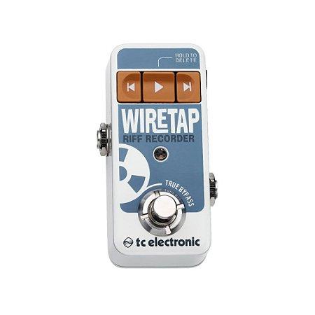 Pedal de Guitarra TC Electronic Wiretap Riff Recorder