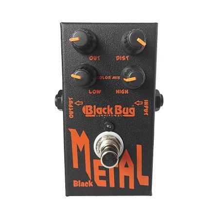 Pedal de Guitarra Black Bug TBM Black Metal Heavy Vintage