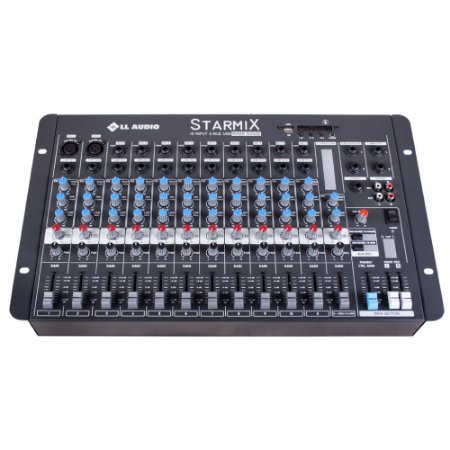 Mesa De Som Mixer Ll Audio S1202D  BT 12 Canais Bluetooth