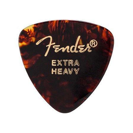 Palhetas Fender Extra Heavy Tortoise Shell Kit com 6