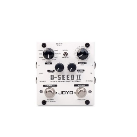 Pedal Para Guitarra Joyo D-seed 2 Dual Channel Dig Delay ST