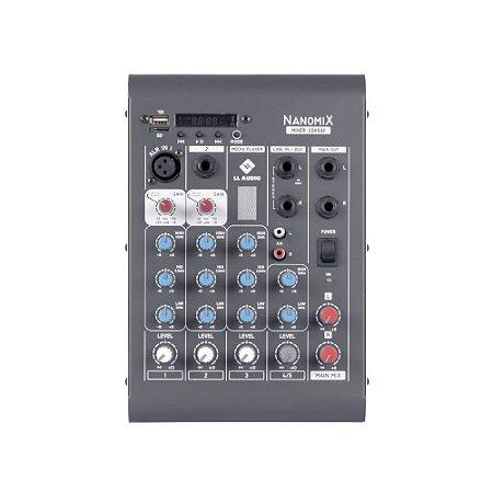 Mesa De Som Mixer Nanomix CDX LL Audio CDX502 4 Canais
