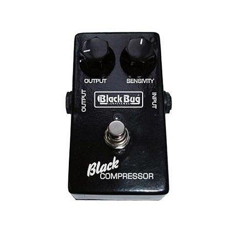 Pedal de Guitarra Black Bug TBC Black Compressor Sustain