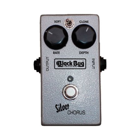 Pedal de Guitarra Black Bug Tsc Silver Chorus C/Rate e Depth