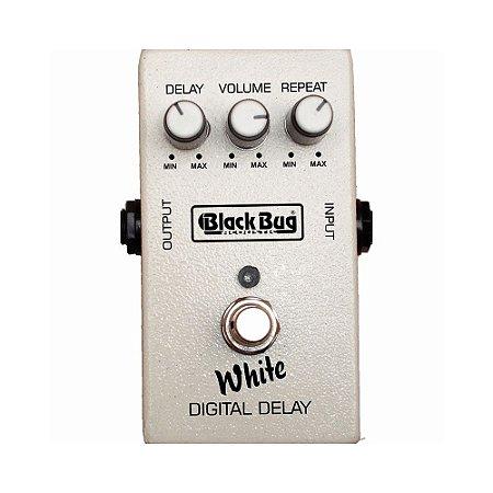 Pedal Para Guitarra Black Bug TWD White Delay Vintage Repeat