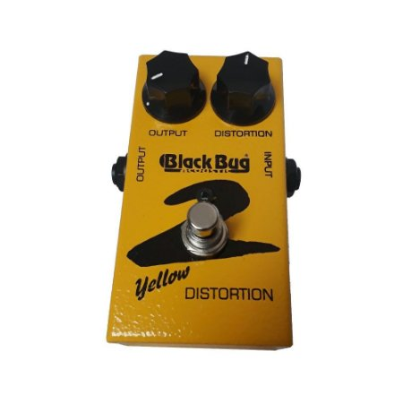 Pedal de Guitarra Black Bug TYD-2 Yellow Distortion Vintage