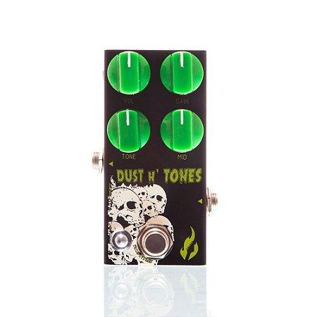 Pedal para Guitarra Fire Dust N´ Tones Overdrive