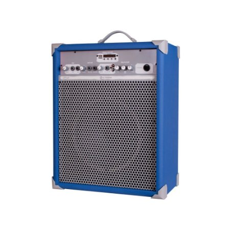 Caixa de Som Amplificada Multiuso Up!10 Sky Blue FM/USB/BT
