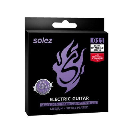 Encordoamento Solez Guitarra Slg11 .011