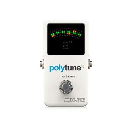 Pedal de Guitarra TC Electronic Polytune 3 C/Buffer Bonafide