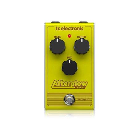 Pedal de Guitarra TC Electronic Afterglow Chorus Analógico