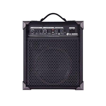 Caixa De Som Amplificada Multiuso Ll Audio Lx60 15 Wrms