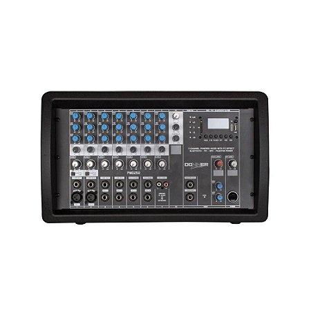 Mesa Mixer Amplificado Ll Audio PWD250 250 Wrms