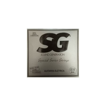 Encordoamento Para Guitarra SG 010 Special Séries Strings
