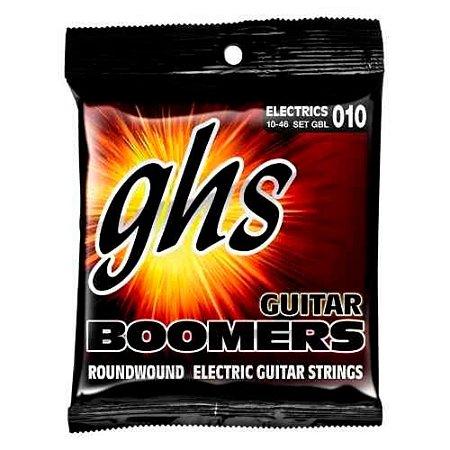 Encordoamento GHS para Guitarra Boomers Light GBL 010/046
