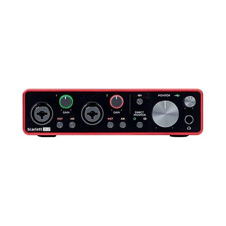 Interface de Audio Focusrite Scarlett 2i2