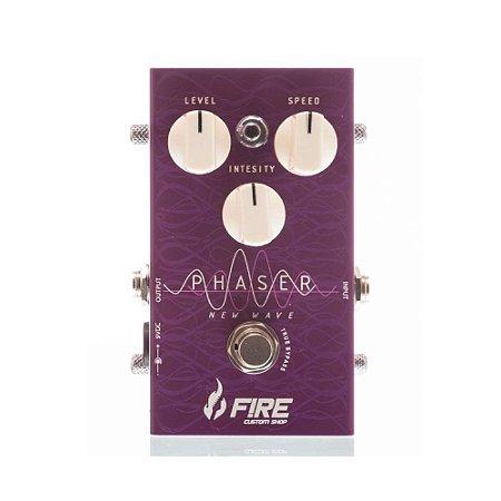 Pedal para Guitarra Fire Custom Shop Phaser New Wave